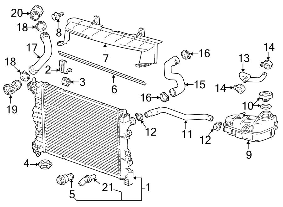 Chevrolet Sonic Radiator Coolant Hose 1 4 Liter Turbo Manual Guide