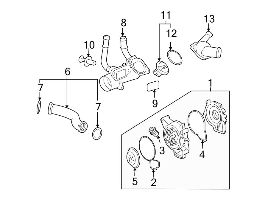 Oldsmobile Alero Plug. Water. Pump. Engine. 2.2 LITER ...