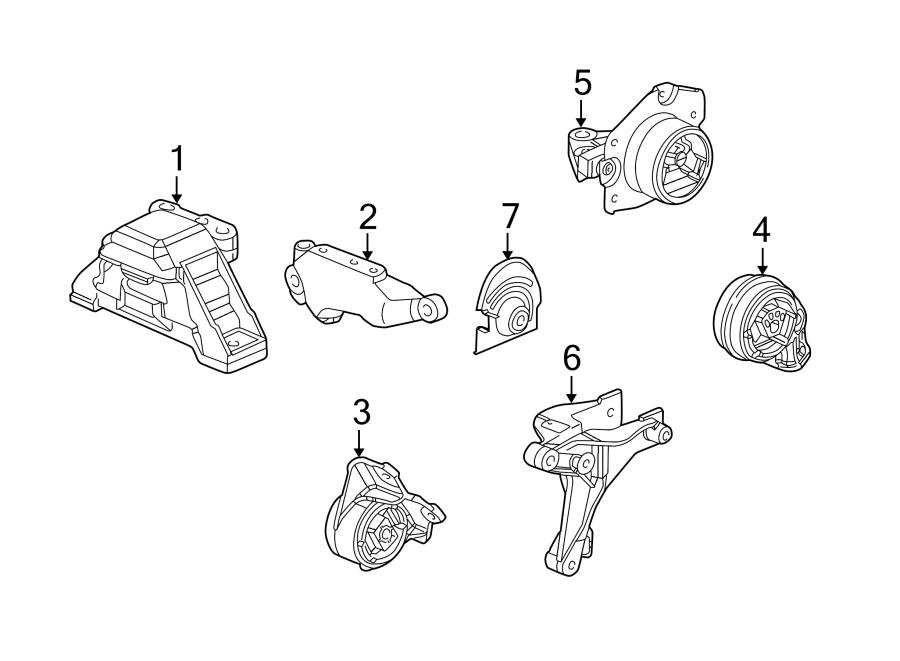 Chevrolet Cobalt Manual Transmission Mount  Liter  Engine