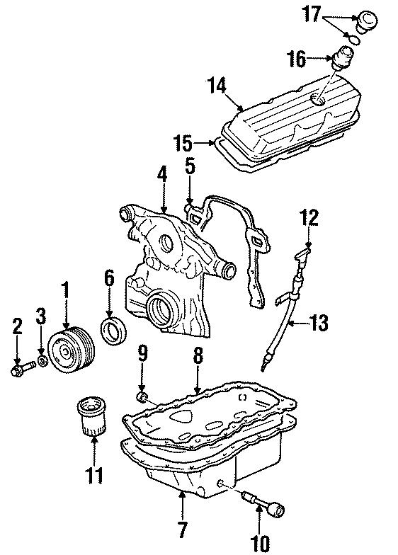 Chevrolet Lumina Engine Oil Dipstick. 3.8 LITER - 12574823 ...