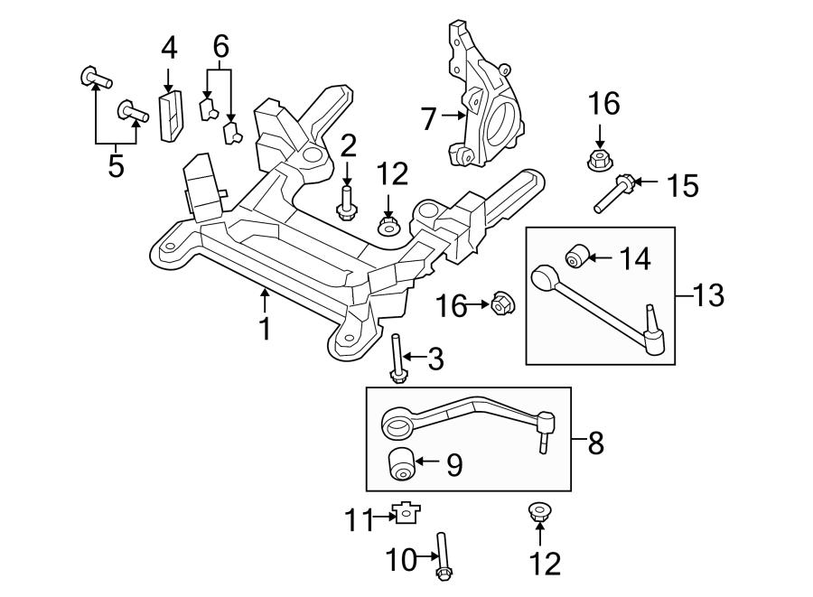 Pontiac G8 Suspension Control Arm Bushing  Caprice Ppv