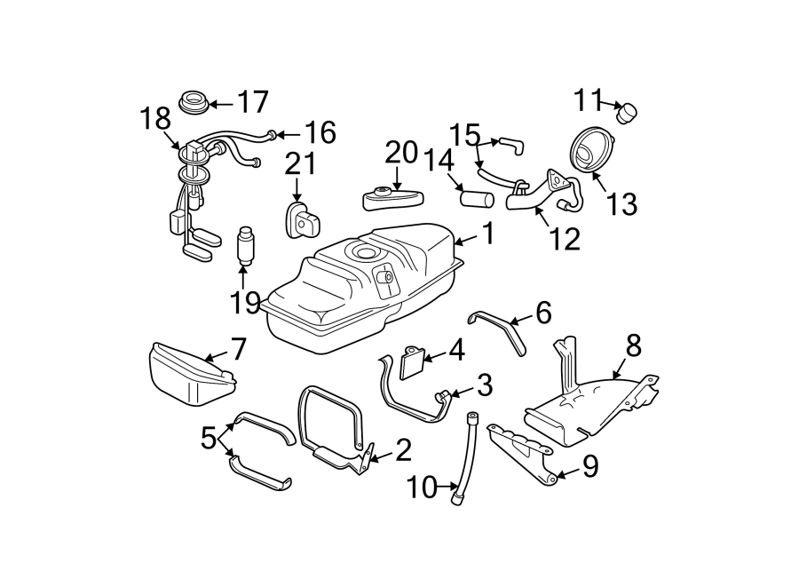 Buick Park Avenue Strainer  Fuel  Pump  Filter  Kit