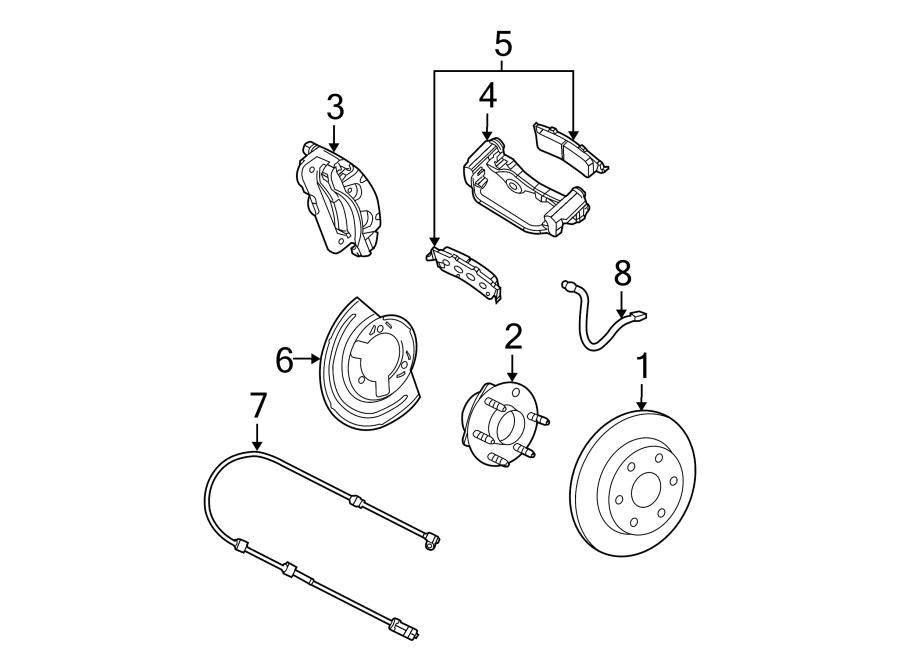 Chevrolet Astro Abs Wheel Speed Sensor  Front