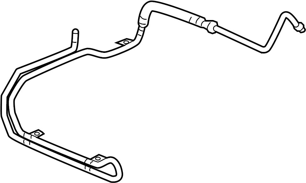 Pontiac Montana Power Steering Cooler  Gear  Awd  Fluid