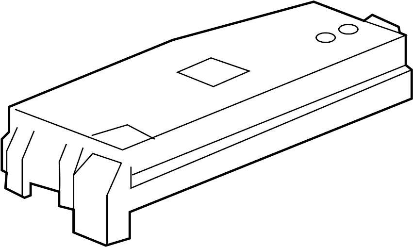 Chevrolet Captiva Sport Fuse Box Cover  Underhood