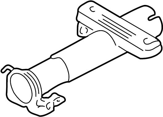 Pontiac Sunfire Steering Column Tube  Cavalier  Sunfire  W  O Tilt Wheel  W  Tilt Wheel