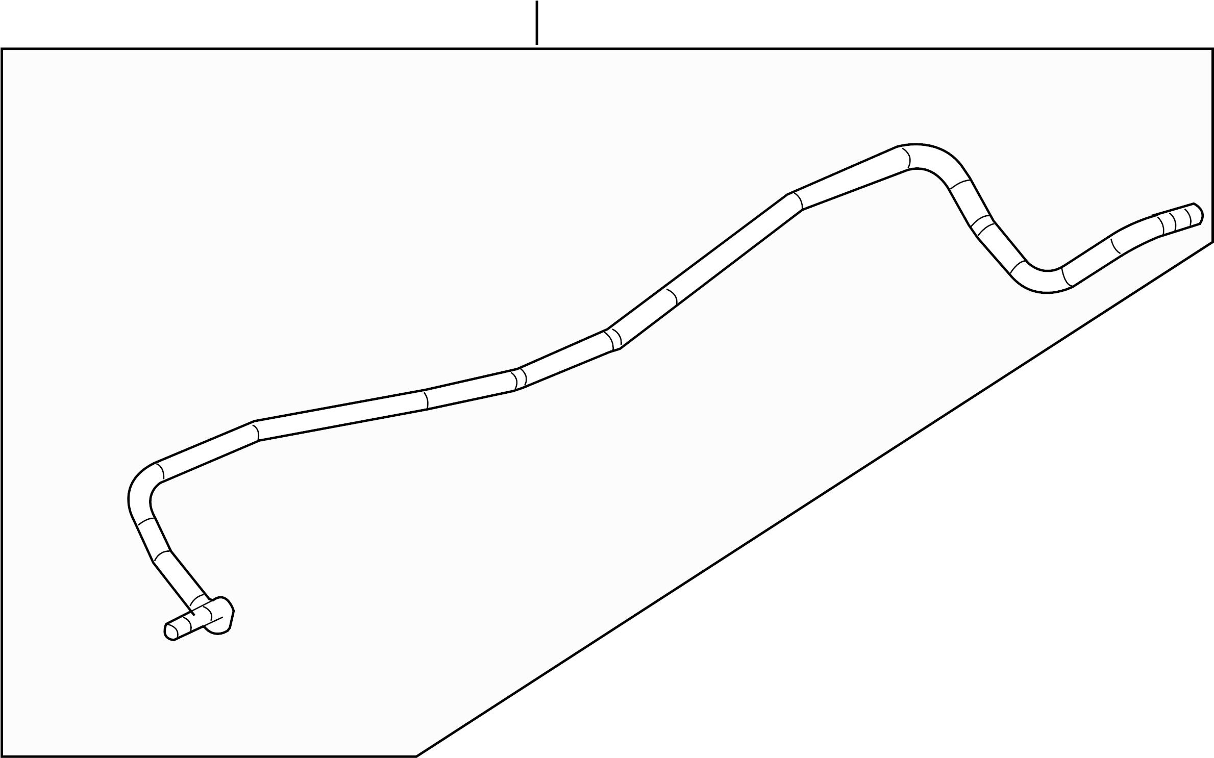Chevrolet Malibu Suspension Stabilizer Bar  Rear