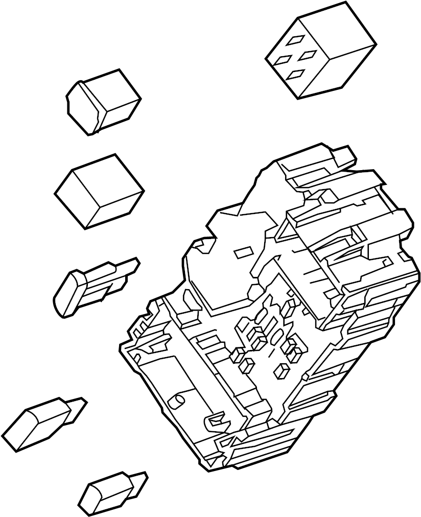 Gmc Yukon Xl Fuse Box  Instrument Panel  1st Design  Instrument Panel  W  O Pwr Adjust