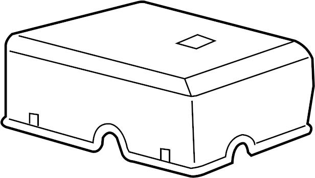 Gmc Yukon Xl 1500 Cover  Box  Fuse  Engine Compartment  Engine Compartment  Main Block