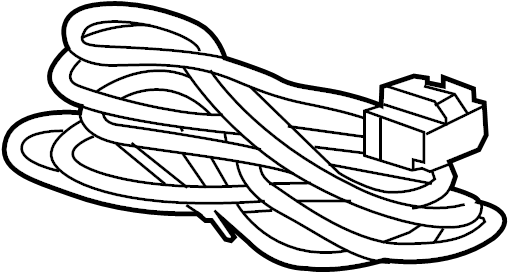 Chevrolet Traverse Harness  Wire  Trailer  Extension