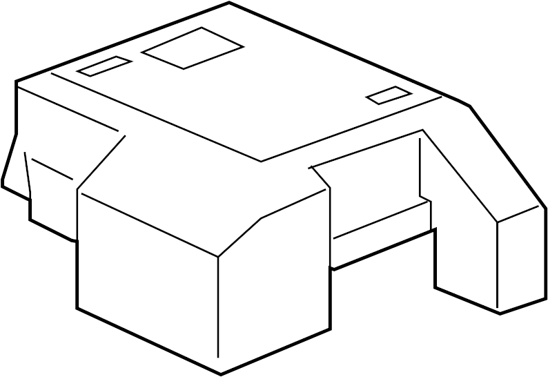 Gmc Yukon Cover  Fuse Box  Junction Block  Upper  Accessory Block Engine Compartment
