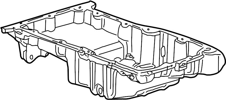 Saturn Ls1 Engine Oil Pan  Liter  Bearings  Cylinder